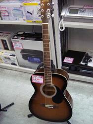 アコースティックギター買取ました